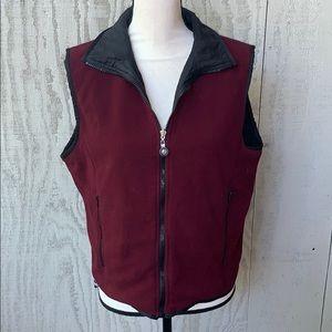 Maroon Vest.